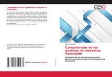 Capa do livro de Competencias de los gestores de proyectos: Innovación