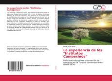 """Portada del libro de La experiencia de los """"Institutos Campesinos"""""""