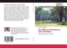 Bookcover of Es todo un fracaso y una tristeza