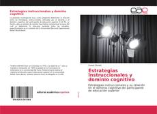 Bookcover of Estrategias instruccionales y dominio cognitivo