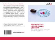 Portada del libro de Resiliencia en pacientes con VIH/SIDA
