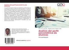 Copertina di Análisis del perfil psicométrico de alumnos