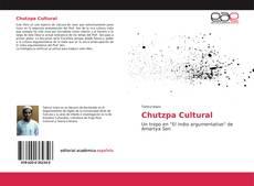 Portada del libro de Chutzpa Cultural