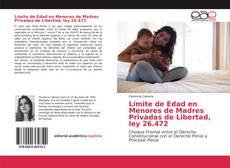 Portada del libro de Límite de Edad en Menores de Madres Privadas de Libertad, ley 26.472