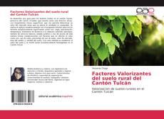 Bookcover of Factores Valorizantes del suelo rural del Cantón Tulcán