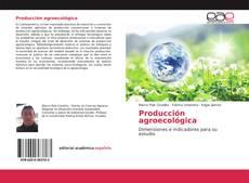 Producción agroecológica kitap kapağı