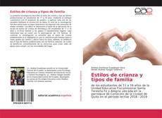 Bookcover of Estilos de crianza y tipos de familia