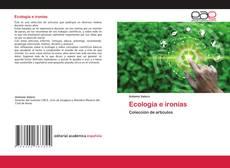 Portada del libro de Ecología e ironías
