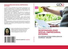 Capa do livro de RESPONSABILIDAD SOCIAL EMPRESARIAL EXTERNA