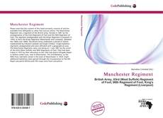 Bookcover of Manchester Regiment