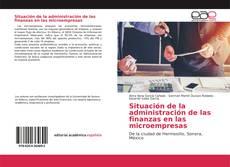 Couverture de Situación de la administración de las finanzas en las microempresas