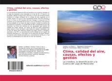 Portada del libro de Clima, calidad del aire, causas, efectos y gestión