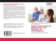 Portada del libro de Salud y Educación en Enfermería, una Mirada a la Investigación