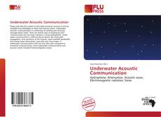 Bookcover of Underwater Acoustic Communication