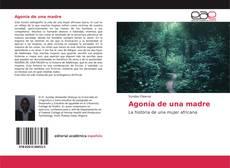 Buchcover von Agonía de una madre