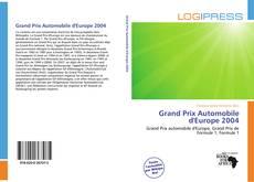 Bookcover of Grand Prix Automobile d'Europe 2004