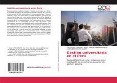 Borítókép a  Gestión universitaria en el Perú - hoz