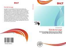Bookcover of Col de la Loge