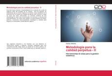 Bookcover of Metodología para la calidad perpetua - II