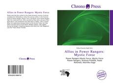 Buchcover von Allies in Power Rangers: Mystic Force