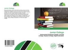 Bookcover of Junior College