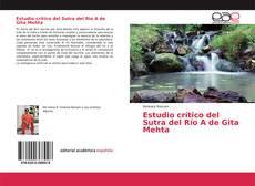 Portada del libro de Estudio crítico del Sutra del Río A de Gita Mehta