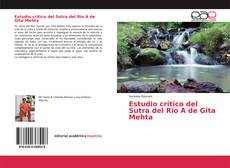 Borítókép a  Estudio crítico del Sutra del Río A de Gita Mehta - hoz