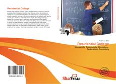 Bookcover of Residential College