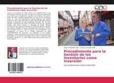 Обложка Procedimiento para la Gestión de los Inventarios como Inversión