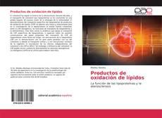 Copertina di Productos de oxidación de lípidos