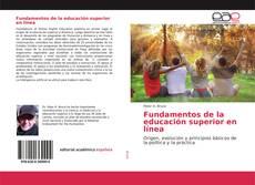 Portada del libro de Fundamentos de la educación superior en línea