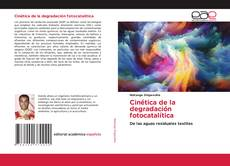 Capa do livro de Cinética de la degradación fotocatalítica