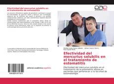 Portada del libro de Efectividad del mercurius solubilis en el tratamiento de estomatitis