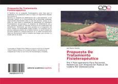 Portada del libro de Propuesta De Tratamiento Fisioterapéutico