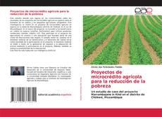 Proyectos de microcrédito agrícola para la reducción de la pobreza的封面