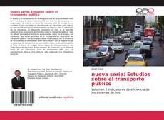 Capa do livro de nueva serie: Estudios sobre el transporte público
