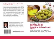 Portada del libro de Análisis de los desafíos en la industria del aceite de oliva