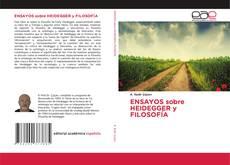 Portada del libro de ENSAYOS sobre HEIDEGGER y FILOSOFÍA