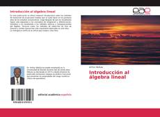 Copertina di Introducción al álgebra lineal