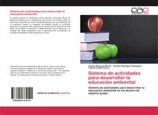 Capa do livro de Sistema de actividades para desarrollar la educaciòn ambiental