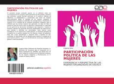 Обложка PARTICIPACIÓN POLÍTICA DE LAS MUJERES