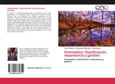 Capa do livro de Humedales: Clasificación, importancia y gestión
