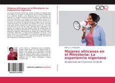 Portada del libro de Mujeres africanas en el Ministerio: La experiencia nigeriana