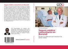 Bookcover of Seguro médico comunitario en Burundi