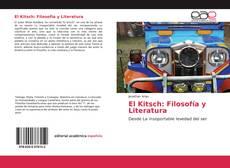 Capa do livro de El Kitsch: Filosofía y Literatura