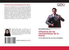 Bookcover of Influencia de las características de la marca