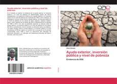 Bookcover of Ayuda exterior, inversión pública y nivel de pobreza