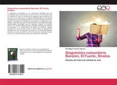Diagnóstico comunitario Baroten, El Fuerte, Sinaloa的封面
