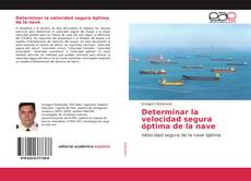 Bookcover of Determinar la velocidad segura óptima de la nave