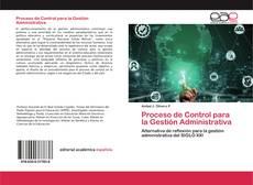 Обложка Proceso de Control para la Gestión Administrativa
